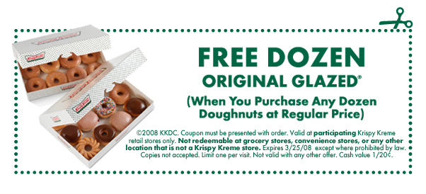Krispy kreme discount coupon